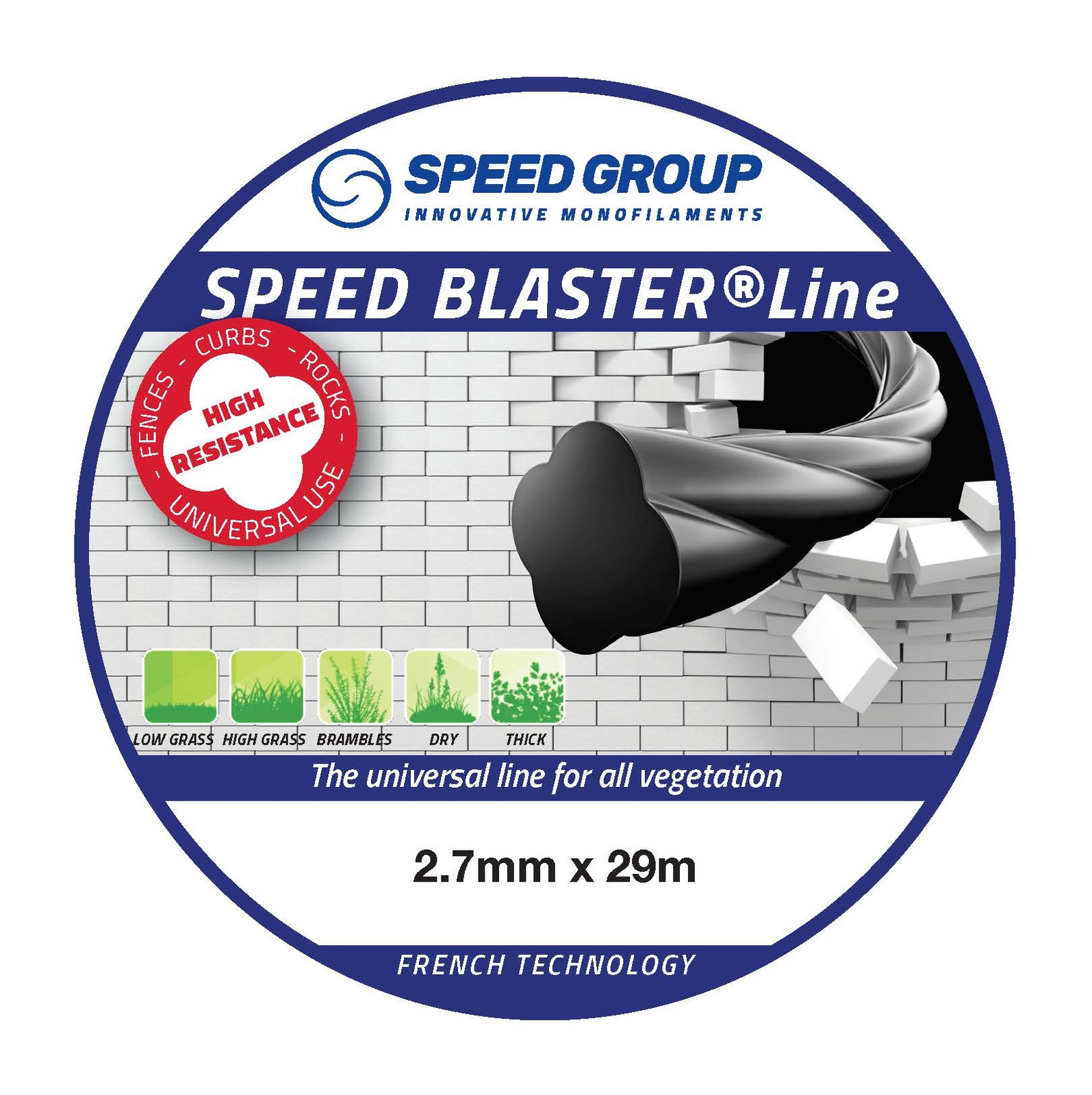 Speed Blaster 2.7mm Trimmer Line 29m Donut