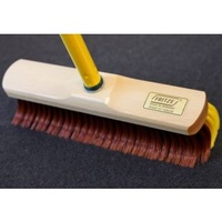 Rake Broom Indoor 30cm, telescopic handle included